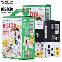 Wholesale 10 Sheets Instax Mini White Film Photo Paper Snapshot Album Instant Print for Instax Mini s