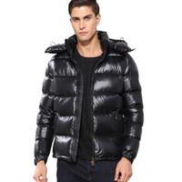 Wholesale red color weave resale online - Designer jacket men s brand hooded High Quality Winter Jacket Warm Plus Size down jacket Man Down Unisex Winter warm Coat outwear