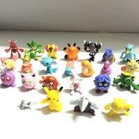 игрушки для клоуна оптовых-144 шт Пик фигурку детские игрушки детские день рождения рождественские подарки 2-3 см Мини AnimeToy Цифры для детей