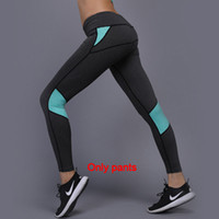 Wholesale yoga pant outfits for sale - Group buy 20 Women Yoga Outfits Ladies Sports Full Leggings Ladies Pants Exercise Fitness Wear Girls Brand Running Leggings
