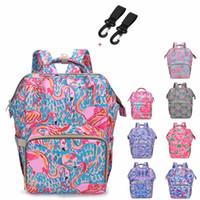 Brand New Designer Mummy Maternity Nappy Bag Large Capacity Baby diaper Bag Travel Backpack Nursing for Infant Care