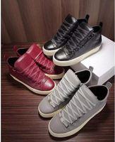 mens schuhe discount großhandel-Riesige Rabatt Marke Pythonhaut Leder neue Paar Schuhe Großhandel hochwertige Freizeitschuhe für Herren