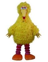 ingrosso grandi costumi della mascotte d'uccello-Sesame Street big yellow bird mascotte costume personaggio dei cartoni animati classico sesamo strada grande uccello mascotte vestito vestito
