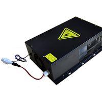 temperatura de carregamento da bateria venda por atacado-Máquina CO2 Laser Power Supply 220V Gravador Cortador de Laser Engraving Tubo