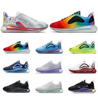 ingrosso gli uomini vedono-2019 nike air max airmax 720 moda scarpe da corsa per uomo donna Be True Pride triple nero Speckle SEA FOREST Pale Vanilla mens scarpe da ginnastica moda sport sneakers