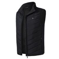 kış için yelek toptan satış-2018 Yeni Ceketler Kadın Elektrikli Isıtmalı Yelek Isıtma Yelek USB Termal Sıcak Giysiler Sıcak Satış Kış Coat Doudoune Femme Hiver