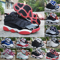 Wholesale basket girls for sale - Group buy 6 s Six Rings Basketball Shoes Men Womens Sneakers Jumpman Concord Bred Green Ice Gym Red Confetti Space Jam Baskets Trainers Zapatos