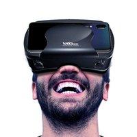 экранные устройства оптовых-VRG Pro 3D VR Очки Виртуальная Реальность Полноэкранный Визуальный Широкоугольный VR Очки Коробка Для 5-7 дюймов Смартфон Очки Устройства