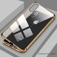 telefone de sucção dupla face venda por atacado-Para iPhone 11 pro Max X XS XR Rotary vidro de dupla face de sucção magnética capa protetora de Wan Magneto Rei caso de telefone