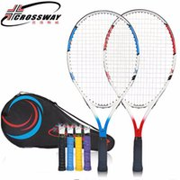 Wholesale tennis rackets prices for sale - Group buy Children s CROSSWAY Tennis Racket Paddle Inches Sport Training Raqueta De Tenis With Bag Tennis Overgrip Favorable Price