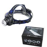 Wholesale bike zoom resale online - LED Headlight Q5 T6 led headlamp zoom Head lights head lamp XML T6 zoomable lampe frontale LED BIKE light