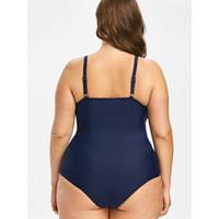 d71c098cb028e Wholesale plus size thong bodysuit for sale - Plus Size One Piece Swimsuit  Mesh Tummy Control