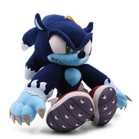 Wholesale plush sonic toys for sale - Group buy Sonic the Werehog Soft Doll Cartoon Animal Stuffed Peluche Plush Toy Christmas Gift For Children CX200606