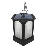 Wholesale flame lights resale online - Solar Lights LED Flames Torch Lights Outdoor Waterproof Landscape Decoration Lighting Dusk to Dawn Auto On Off Security Flame