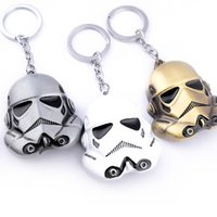 Wholesale imperial toy resale online - Imperial Stormtrooper Model Keychain The Storm Troops Cosplay Props Imperial Stormtrooper Keychain Metal Pendant Soldier Mask Key