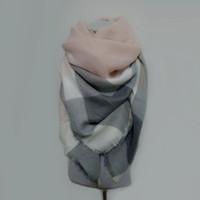 za cachecol venda por atacado-Za inverno cachecol Tartan Cachecol mulheres Xadrez Cachecol cuadros Novo Designer Unisex Acrílico Xales Básicos quentes bufandas cobertor lenços