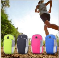 Wholesale arm band case sport bag for sale - Group buy Universal Sports Armband Case Bag Zippered Fitness Running Jogging Arm Band Bag Pouch Jogging Workout Cover for Mobile Phone Smartphone