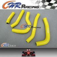 Wholesale radiator hoses resale online - for Honda CRF250R CRF R CRF250 silicone Radiator Hose YELLOW
