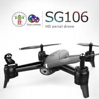 ingrosso drone vs-SG106 RC Drone 1080P / 720P Doppio Cam4 CH Long Flytime Braccio pieghevole con Gesture Control Dron WIFI trasmissione puntuale VS E58 H51