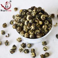 flores de chá venda por atacado-2019 muito bom 250g chá china Blooming 100% JASMINE DRAGON PÉROLAS TEA GRÁTIS Shippping Chá Verde