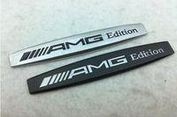 ingrosso emblema lettere-Metallo 3D AMG Edition lettere Fender distintivo dell'emblema della decalcomania del distintivo dell'emblema del tronco Sticker per Mercedes Benz