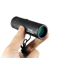 Wholesale telescope 25 resale online - High Power HD Monocular Telescope Outdoors Portable Camp Telescopes Night Vision Alloy Camping Equipment Take Picture Mini nk N1