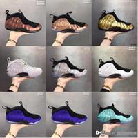 zapatillas de baloncesto rápidas al por mayor-Comprar aire informalFoamposite Pro Basketball Barato para hombre 2019 zapatos nueva llegada en línea sneakers zapatería con entrega rápida gratuita en línea