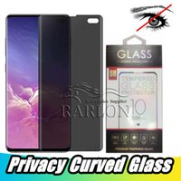 Wholesale galaxy s10 case with screen protector online – Premium Privacy Tempered Glass D Anti Spy Case Friendly Screen Protector For Samsung Galaxy S10 S10E S9 S8 Plus Note With Packing