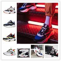 mesh c großhandel-2019 neueste luxus designer homme b22 trainer sneaker hohe qualität schwarz weiß männer damenmode dad sport laufschuhe größe 36-45