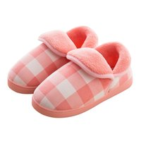 женские тапочки оптовых-New Winter Women Warm Home Slippers Winter Warm Plush Slippers Women Shoes Indoor Shoes Fur Bedroom