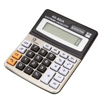Wholesale office supplies calendars resale online - 800A office supplies computer desktop with ring calculator electronic calculator business accounting calculator Opening Ceremony Employee