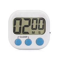 minutero al por mayor-Pantalla LCD, temporizador de cocina digital, recordatorio de cocción con soporte, gancho de entrega, diseño de imán de alarma ruidosa para adherirse al refrigerador