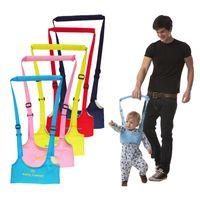 bebek yürümek kemeri toptan satış-Yeni Varış Bebek Yürüteç, Çocuklar için Bebek Koşum Yardımcısı Toddler Tasma Öğrenme Yürüyüş Bebek Kemer Çocuk Güvenliği Dropshipping