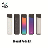 e mount achat en gros de-Authentique OVNS Aimo Mount Pod Kit de démarrage 400mAh Batterie E-Cigarette Stylo Vape pour 1.8ml Céramique Coil Pods Cartouche 100% Original