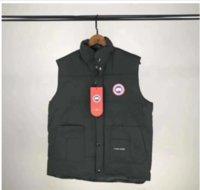 spor ceket yelek toptan satış-Erkek Yelek Ceket ceketler Moda Kanada Avrupa Siyah Gri Mavi kadınlar Coat Aşağı ceketler Doğa Sporları Soğuk Kış Tatil