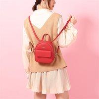 multifunktionsleder umhängetasche großhandel-Maison Fabre Frauen Messenger Bag Mini Bag Multifunktions Bagpack Mode Umhängetasche Hochwertige Pu-leder Frauen Rucksack # 7
