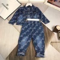 kız bebek kıyafeti lüks toptan satış-Bebek Çocuk Giyim seti Kızlar Lüks Tasarımcı Konfeksiyon Çocuk Etek Yaz Içinde Yeni Desen Dantel Elbise Çocuk Prenses Gazlı Bez wanziqianhong1