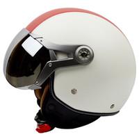Wholesale motorcycle helmet seasons for sale - Group buy Gxt Motorcycle Helmet Runaway Governor Were The New Four Seasons Half Face Air Half Cover Summer Sun Helmet
