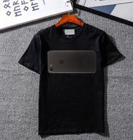 t-shirt venda por atacado-Luxo Verão T Shirt Moda Maré Marca T Shirt para Homens Designer de Camisas Carta Impressão Casual Homens Mulheres Tripulação Pescoço Venda Quente Tamanho S-2XL