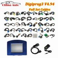 digiprog volle set kabel großhandel-Neueste Digiprog III Digiprog3 V4.94 Full Set mit allen Kabeln Entfernungsmesser-Korrektur Digiprog 3 Meilenzahl-Programmierer-Werkzeug