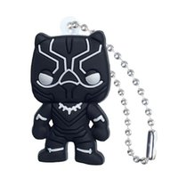 Wholesale keychain marvel resale online - 2019 Marvel Avenger Action Figure High Quality PVC Keychain Key Ring Anime Key Chain Fashion Accessories Packed Kawaii Party Favors Kid Gift