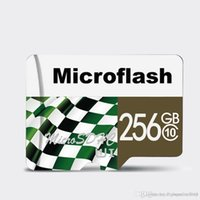 micro hc großhandel-256 GB reale Kapazität Marke NEUE Micro SD Universal Flash TF Speicherkarte HC Class 10 FREE SD Adapter Kostenloser Versand