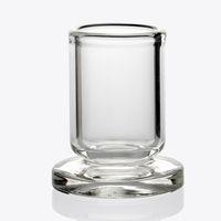 halter design großhandel-Best Design Carb Cap Holder Dicker Klarglasständer OD 25mm Stander für Quarz Carb Cap Dabber Caps