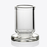 Wholesale stands glasses for sale - Group buy Best Design Carb Cap Holder Thick Clear Glass stand OD mm stander for quartz carb cap dabber caps