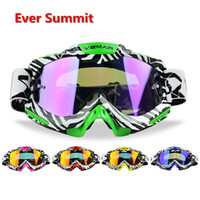Wholesale orange cycling helmet for sale - Group buy Motocross Off Road Goggles Anti Shock Protection Riding Cycling Dustproof Windproof Sandproof Outdoor Anti Fog Goggles helmet Eyewear