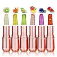 Wholesale professional lipstick balm for sale - Group buy MINFEI Temperature change Color Lipstick Set Discoloration Moisturizing Lip Balm Jelly Diamond Long Lasting Professional Makeup Lipstick