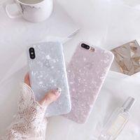 lustige fälle großhandel-Mode muschelschale telefon case für iphone 6s case für apple iphone x 6 7 8 plus rückseitige abdeckung luxus reizende fälle lustige