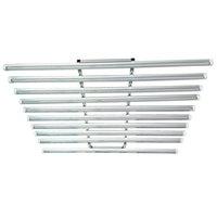 ingrosso lo spettro completo ha portato ad aumentare l'illuminazione-LED Grow Light Bar Fixture 360W LED spettro completo coltiva la luce 120 centimetri serra idroponica Medica 10 in 1 192 * 0.5W pianta crescere Tubo