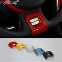 Wholesale decorative car parts for sale - Group buy Car Steering Spoke Cover Car Styling Car Steering Wheel Decorative Sticker Decal Plate Parts For VW Beetle To pc