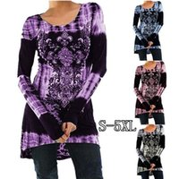 Wholesale clothes womens wholesalers online - Women Long Sleeve T Shirt New Arrival Printed Spring T Shirts Ladies Plus Size Casual Top Clothing Womens T Shirt Size S XL